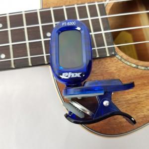 Afinador de Clipe PHX Cromático Digital PT 630C Blue