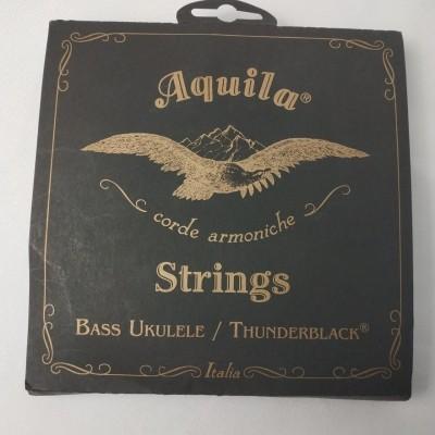 Cordas para ukulele Aquila Thunderblack ubass 140u
