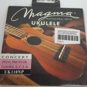 Cordas para ukulele Magma Concert Uk110NP  Nylon Rosa