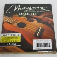 Cordas para ukulele Magma Baritono Uk130NF  Nylon Fluorecente