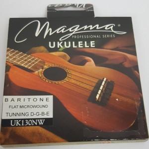 Cordas para ukulele Magma Baritono Uk130NW  Nylon  Branca