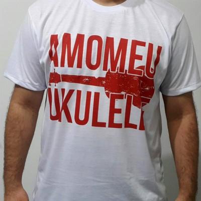 Camiseta Eu Amo Ukulele