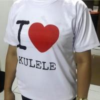 Camiseta I Love Ukulele