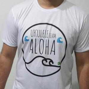 Camiseta Ukulele Aloha
