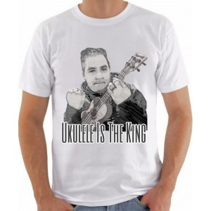 Camiseta Ukulele The Is King