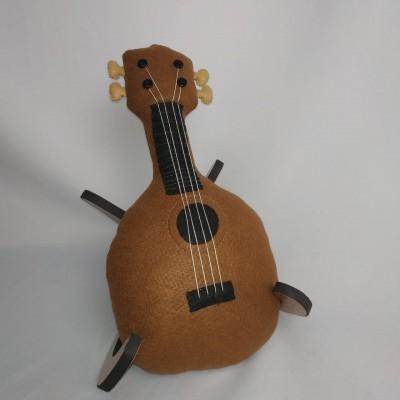 Ursolele  ukulele de pelucia Pineaple abacaxi urso