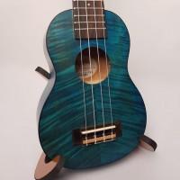Ukulele Akahai Soprano  kFB 21 Exotic Mogno Blue