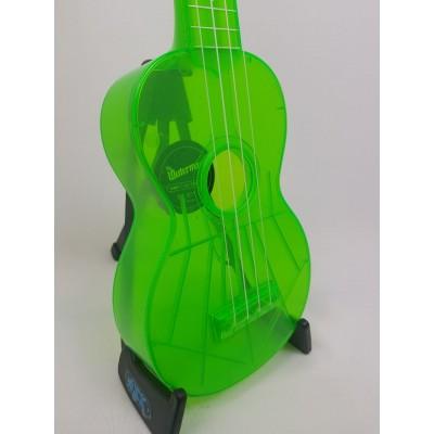 Ukulele The Waterman by Kala soprano fluorecente Verde
