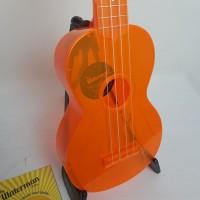 Ukulele Waterman by Kala soprano fluorecente Laranja