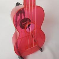 Ukulele Waterman by Kala soprano fluorecente Rosa