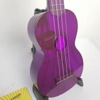 Ukulele Waterman by Kala soprano fluorecente Roxo